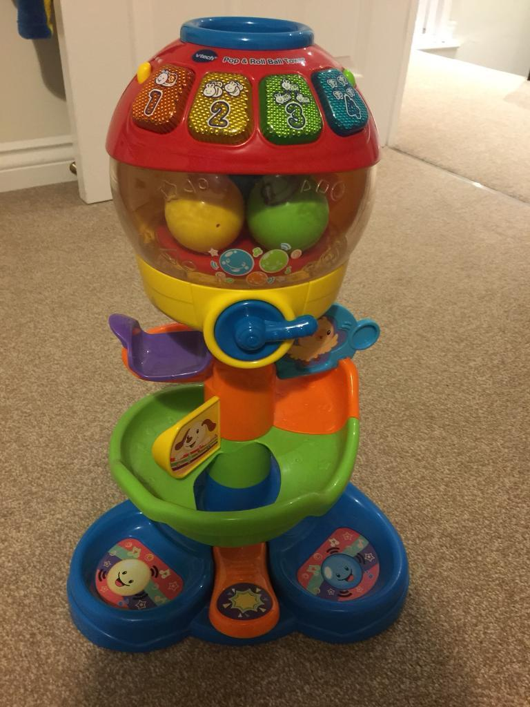 Vtech Pop & Roll Ball Tower