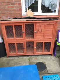 Guinea pig and rabbit cage