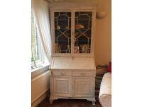White painted bureau