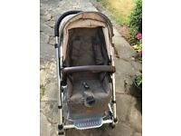 Mamas and Papas Urbo2 Pushchair Chestnut Tweed