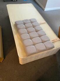 2 mattress single bed