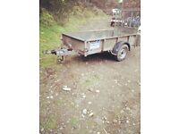 ifor williams gd84 trailer with ramp