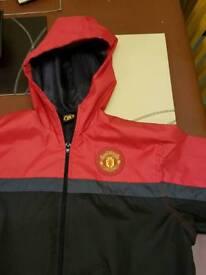 Boys man United coat