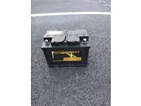 Fully working Car Battery with 3 years guarantee