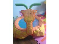 ELC baby /toddler trampoline giraffe with sound