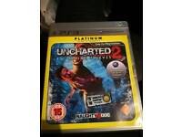 PS3 Uncharted 2:Among Thieves Platinum