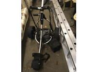 Electric golf club cart