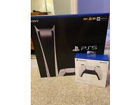 Playstation 5 Digital Console w/ Extra Controller + 1 Year PSN Card