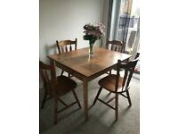 Four seater ikea dining table