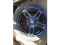 Fiesta alloy wheels x2