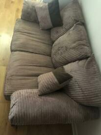 3 seater sofa and armchair set .