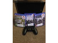 PlayStation 4 500gb with 3 games