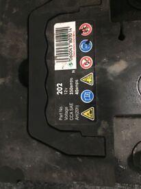 Car battery 12V 40amps