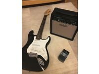 Electric Guitar + Amp (Great for Begginers)
