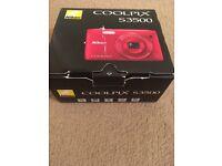 Nikon Coolpix S3500 Red £70ono