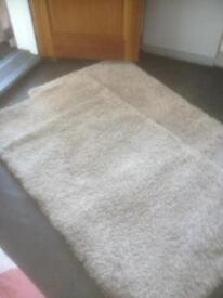 Two Dunelm rugs