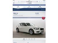 BMW 1 series 116i sport 2012