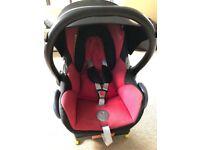 Maxi Cosi CabrioFix Car Seat - Red - IsoFix - 0-13kg