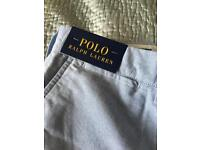 Men's Ralph Lauren Polo shorts. Size 36. Brand new with labels