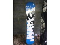 K2 SNOWBOARD - USED ONLY ONCE!