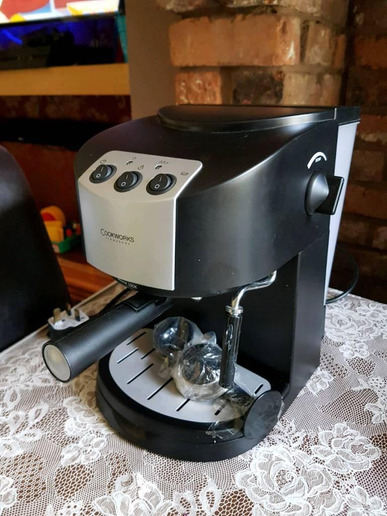 Cookworks coffee machine
