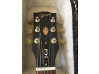 Gibson SGJ and Gibson case
