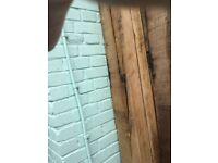 Oak feature beam