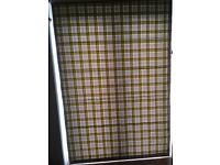 Roman blinds in Clarke and Clarke Bowland fabric - citrus