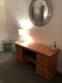 Beautiful Dressing Table (Solid Pine)