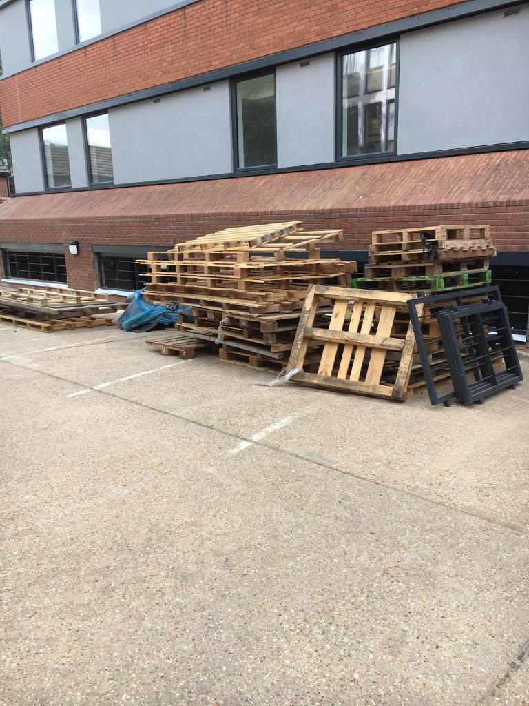 Pallets for removalin Guildford, SurreyGumtree - Pallets for removal all from site all together varying sizes, all in good condition