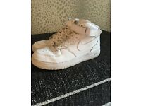 Nike Air Force High Tops Size 5