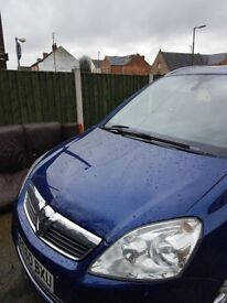 FOR SALE WAUXHALL ZAFIRA 2010/2011 1,6 PETROL 85K . VERY GOOD CONDITION CAT C