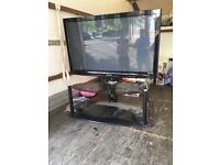 50 inch Panasonic tv with stand