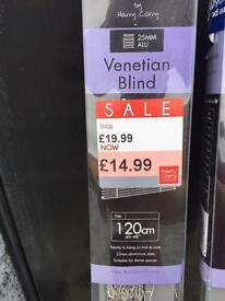 Slimline light grey blinds