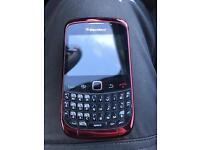 Blackberry 9300 red