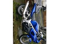 Suzuki sv 650 sy not honda kawasaki yamaha with 1 years mot