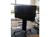 LG 50 INCH PLASMA TV WITH MOBILE STAND
