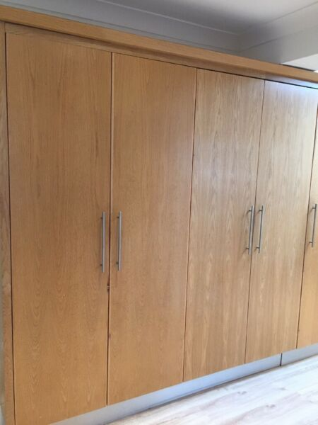 KITCHEN UNITS - Large cupboards - Gas Hob/Extractor Fan - American Fridge - Dishwasher for sale  Bromley, London