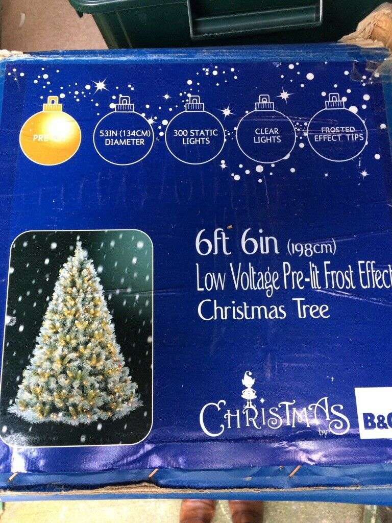 the best attitude 0b88b 1be06 Pre-lit Christmas Tree 6ft 6ins frosted Christmas Tree. Excellent  condition. Just like new. | in York, North Yorkshire | Gumtree