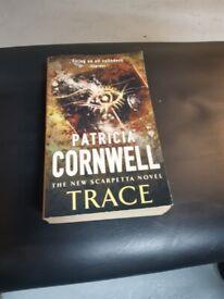 Patricia Cornwell book The New Scarpetta Novel Trace
