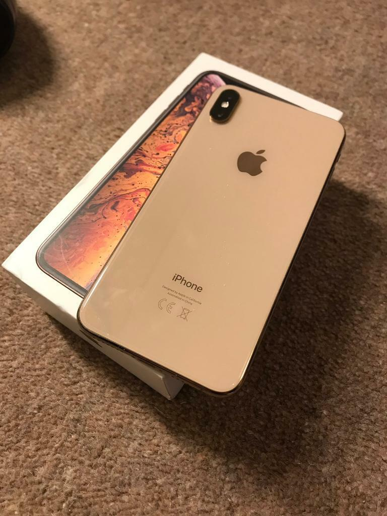 uk availability e9788 c149a iPhone XS Max gold 256gb o2 | in Glasgow City Centre, Glasgow | Gumtree