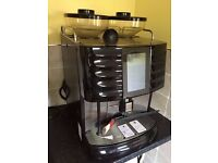 "Professional coffee machine - Schaerer Swiss touch screen double grinding ""bean to cup"" (£9000+ new)"
