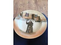 Royal Doulton Mr Squeers limited edition plate D2973 Dickens Ware