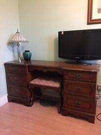 Mahogany dresser dressing table