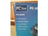 PC computer joy stick. Plug and play.USB