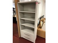 putty 2 drwr bookcase