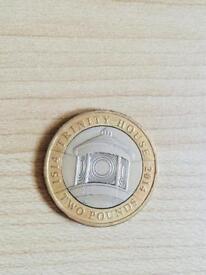 2 pound coin trinity house 2014.