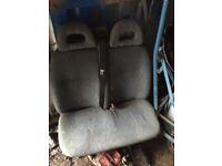 Ford transit double seat