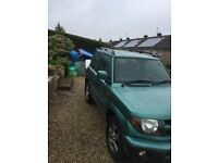 2001 Mitsubishi Shogun pinin gdi ( great condition)