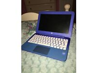 HP Stream 11.6 inch Laptop Blue
